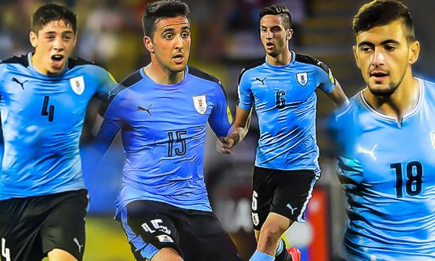 Uruguay midfield